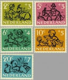 NEDERLAND 1952 NVPH SERIE 596 KIND CHILD