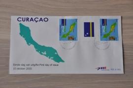 NVPH E001 TB(2) WAPEN VLAG LANDKAART WEAPON MAP FLAG