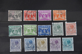 NEDERLAND 1930 NVPH R 57-R70 GESTEMPELD ++ B 489