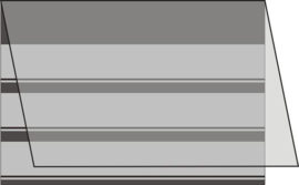 Mandor Insteekkaarten A6 158*110mm zwart 100 stuks