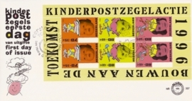 NEDERLAND NVPH FDC E357A  KIND CHILD