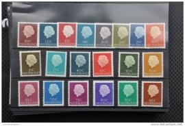 NEDERLAND 1953 NVPH 617-36 POSTFRIS ++ H 016