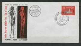 ANTILLEN 1963 FDC E 23-1 ANTI HONGER