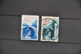 NEDERLAND 1931 NVPH 236-237 GEBRUIKT ++ O 128