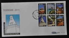 ARUBA 2015 FDC E 212 TOERISME