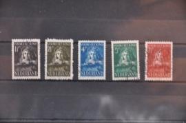 NEDERLAND 1941 NVPH 397-401 GEBRUIKT ++ J 67