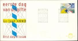 NEDERLAND NVPH FDC E207 ANWB