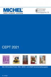 Michel CEPT-katalog  Verenigd Europa in kleur ( Editie 2021)