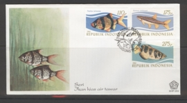 INDONESIË 1983 FDC 151 VISSEN