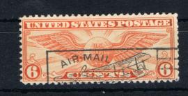 USA 1930 LUCHTPOST MCHL 322 ++ D(B) 201