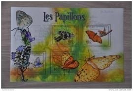 CENTRAFRICAINE VLINDERS BUTTERFLIES PAPILLONS ++ M1-15(1)