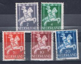 NEDERLAND 1946 NVPH 469-73 GEBRUIKT ++ A 518