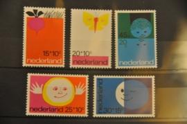 NEDERLAND 1971 NVPH 996-1000 ++ P 012