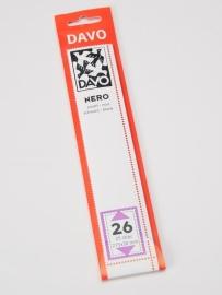 DAVO NERO STROKEN MOUNTS N26 (215 x 30) 25 STK/PCS