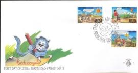 ARUBA 1996 FDC E 066 KINDERZEGELS