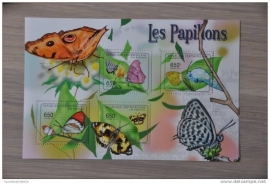 CENTRAFRICAINE VLINDERS BUTTERFLIES PAPILLONS ++ M1-28(1)