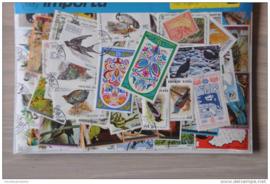 Importa Postzegelpakket 100 vogels ++ 34