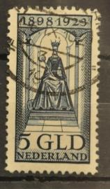 NEDERLAND 1923 NVPH 131 GESTEMPELD ++ J 5
