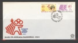 INDONESIË 1984 FDC 160
