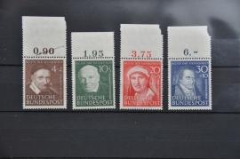 1951 MCHL 143-146 WAARVAN 146 KLEIN GOM GEBREK ++ M 041