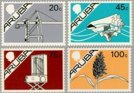 ARUBA 1987 NVPH SERIE 24