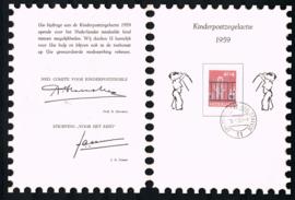 KINDERBEDANKKAART 1959 C