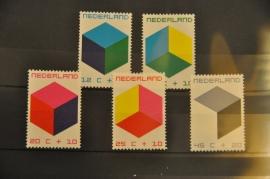 NEDERLAND 1970 NVPH 978-82 ++ P 008