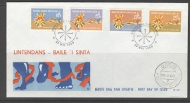 ANTILLEN 1968 FDC E050 ZOMERZEGELS