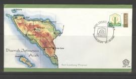 INDONESIË 1981 FDC 100