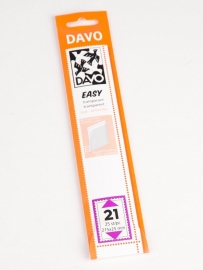 Easy stroken transparant T21 (215 x 25) 25 stuks