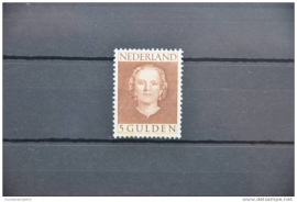 NEDERLAND 1949 NVPH 536 PLAK(REST) ++ H 012