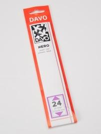 DAVO NERO STROKEN MOUNTS N24 (215 x 28) 25 STK/PCS