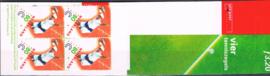 POSTZEGELBOEKJE  PB 52 POSTFRIS TENNIS ++ A