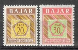 Dienstzegels Postfris1968-1988