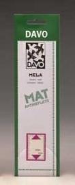 DAVO MELA STROKEN MOUNTS M20 (215 x 24) 25 STK/PCS