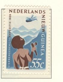 NIEUW GUINEA 1959 NVPH SERIE 53