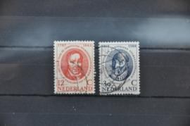 NEDERLAND 1960 NVPH 743-744 GEBRUIKT ++ J 89