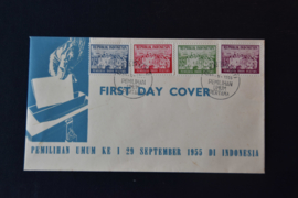 1955 FDC ZBL 150-153