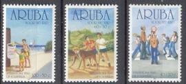 ARUBA 2001 NVPH SERIE 275 KINDERZEGELS