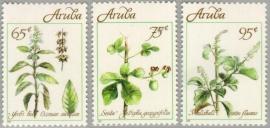 ARUBA 1991 NVPH SERIE 092 KRUIDEN PLANTEN