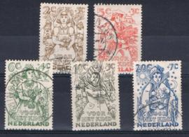 NEDERLAND 1949 NVPH 508-512 GEBRUIKT ++ A 528