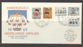 ANTILLEN 1963 FDC E 27-1