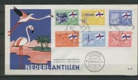 ANTILLEN 1965 FDC E037 EILANDEN