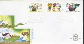 2000 NEDERLAND NVPH FDC E427 KIND