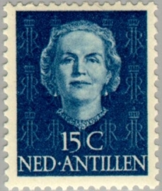 ANTILLEN 1950 NVPH SERIE 222 EN FACE JULIANA