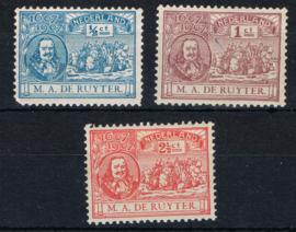 NEDERLAND 1907 NVPH 87-89 ONGEBRUIKT ++ G 461