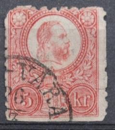 HONGARIJE 1871 MCHL 3 GEBRUIKT ++ L 98