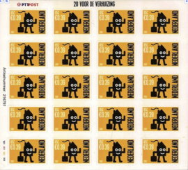 NEDERLAND 2001 NVPH SERIE 2050 ++ D(A) 127