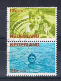 NEDERLAND 1966 NVPH 870-874 GEBRUIKT COMBINATIE ++ L 582