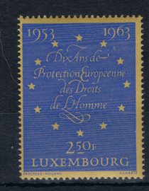 Luxemburg 1963   ++ Lux007